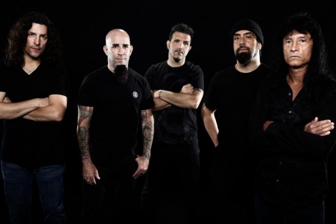 Anthrax na koncercie w Krakowie