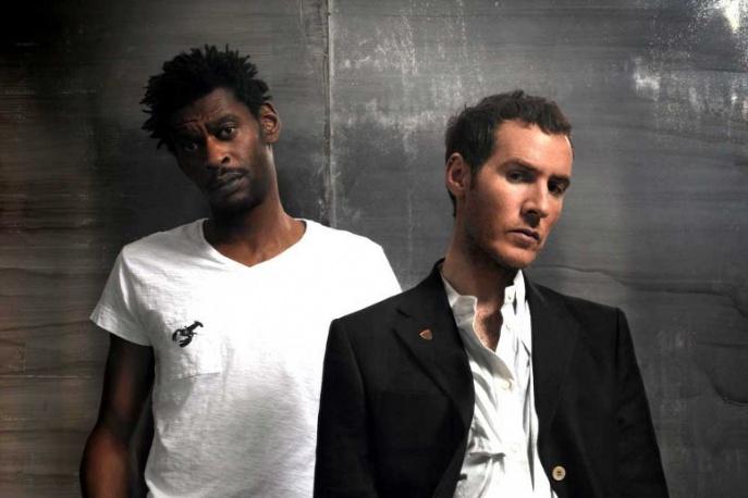 Tricky ponownie z Massive Attack