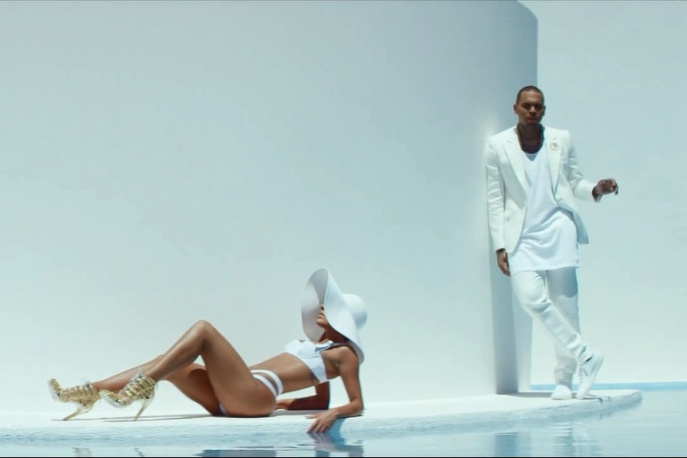 """Chris Brown – """"New Flame"""" ft. Usher & Rick Ross (wideo)"""