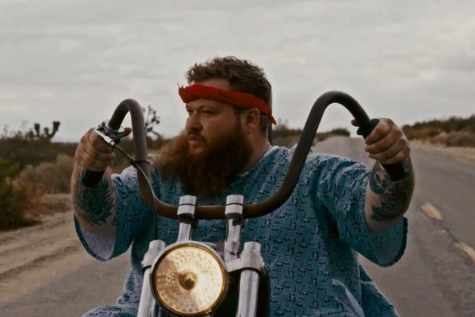 "Action Bronson jako ""Easy Rider"" (wideo)"