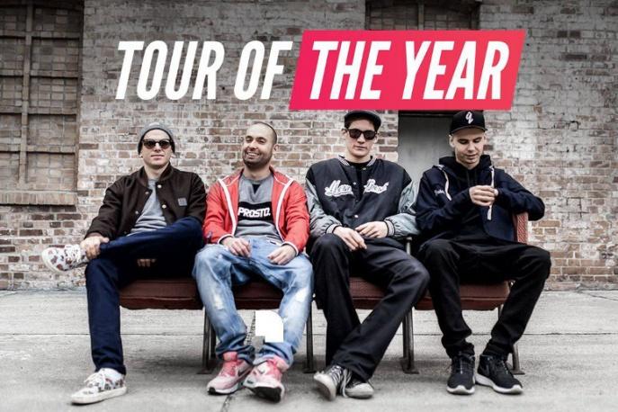"""VNM x Kuba Knap x W.E.N.A. x Kuban – """"Tour of the Year"""" (wideo)"""