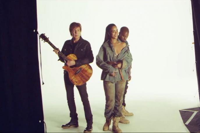 Za kulisami z Rihanną, Paulem McCartneyem i Kanye Westem