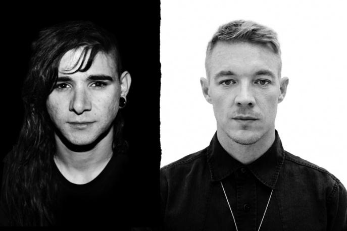 Policja przerwała 24-godzinny DJ`s set Skrillexa i Diplo