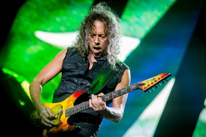 """Metallica pracuje nad płytą. Kirk Hammett: """"Mamy jakieś 25-30 procent"""""""