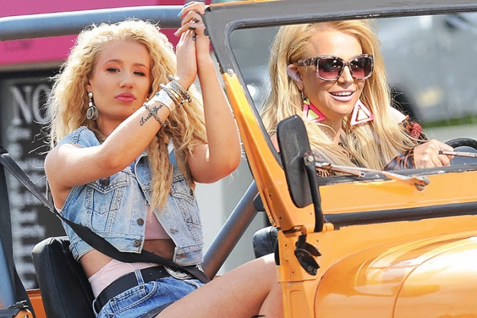 "Britney Spears i Iggy Azalea w klipie do ""Pretty Girls"""