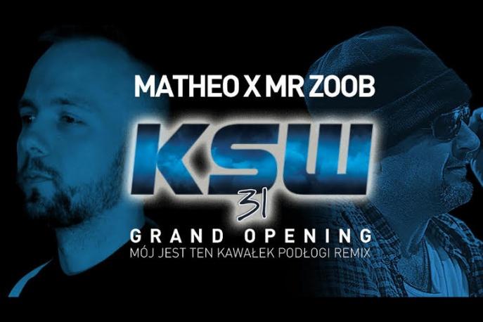 """Matheo i Mr Zoob w remiksie kawałka """"Mój jest ten kawałek podłogi"""""""