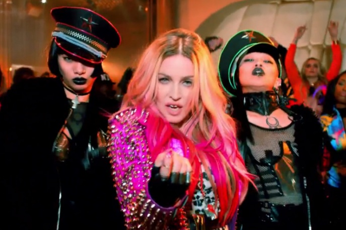 Nowy klip Madonny już w sieci. Na ekranie m.in. Beyonce i Nicki Minaj