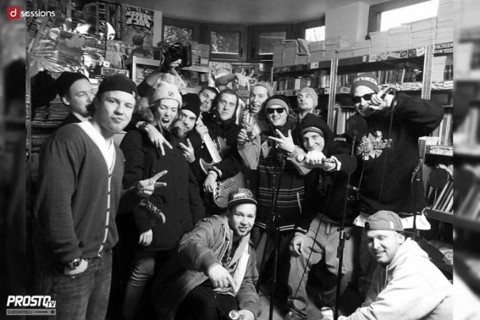 Hip-hop i żywe instrumenty – JWP/BC pierwszymi gośćmi nowego cyklu na Prosto