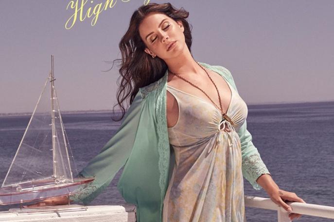 "Lana Del Rey prezentuje ""High by the Beach"""