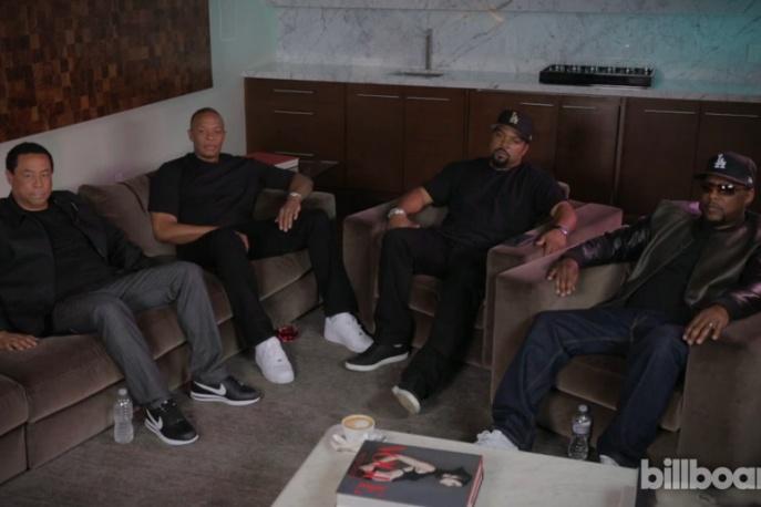 Kendrick Lamar przeprowadził wywiad z N.W.A