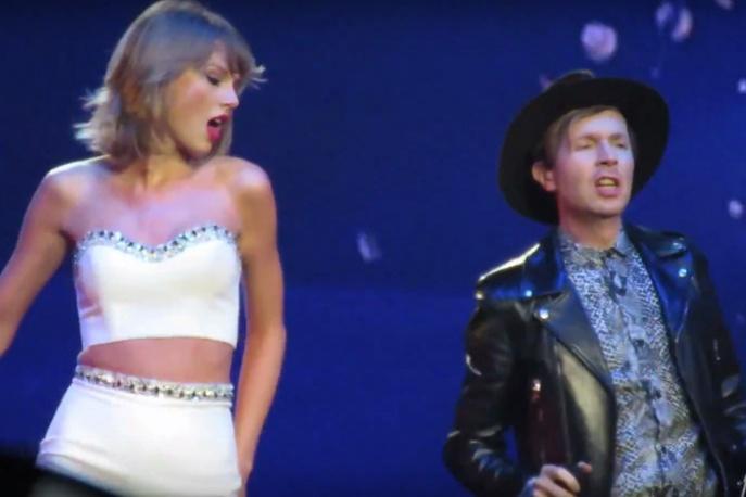 Taylor Swift wystąpiła z Beckiem i St. Vincent (wideo)