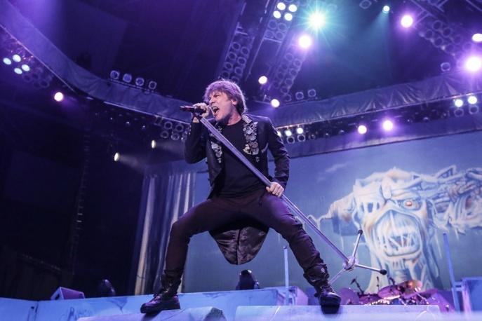 Iron Maiden latem 2016 w Polsce