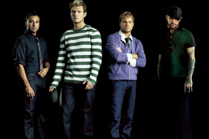 Backstreet Boys na festiwalu rockowym