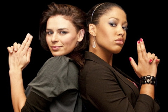 Natasza Urbanska & Patricia Kazadi po nagraniach w Filadelfii
